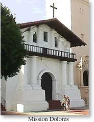 view of the Mission Dolores