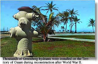 Greenberg hydrant on the island of Guam �1997 Museum of the City of San Francisco