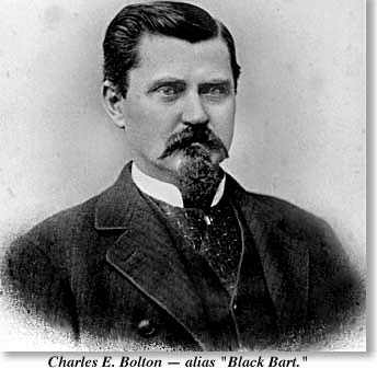 photograph of Black Bart, whose real name was Charles E. Bolton