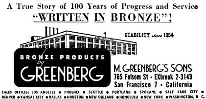 Drawing of Greenberg factory at 765 Folsom Street