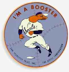 Window decal for Seals' Boosters